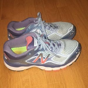 Blue New Balance Stability Sneakers